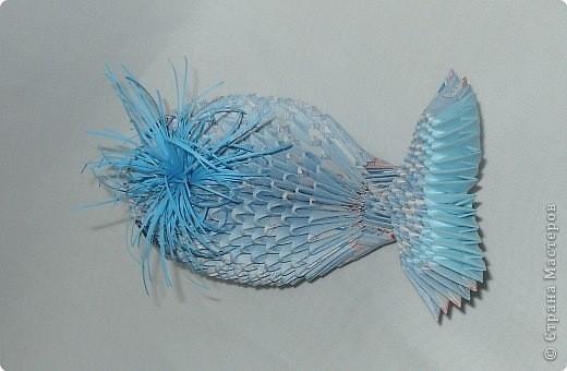 Модульное оригами - Дельфинчик.