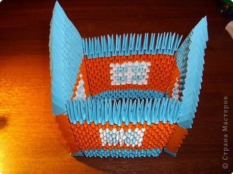 Модульное оригами домик