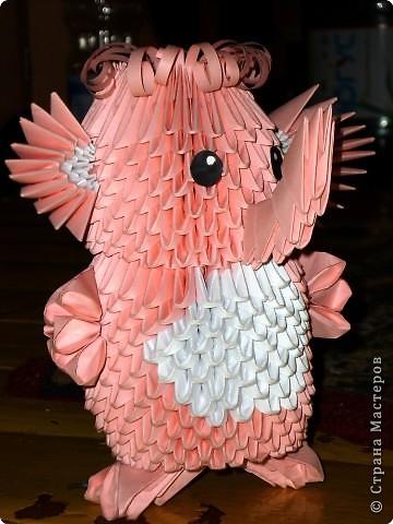 Модульное оригами - Слон
