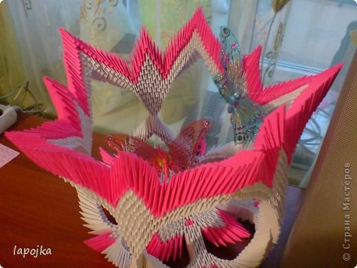 Модульное оригами - Ваза