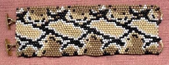 Браслет «Шкура змея»
