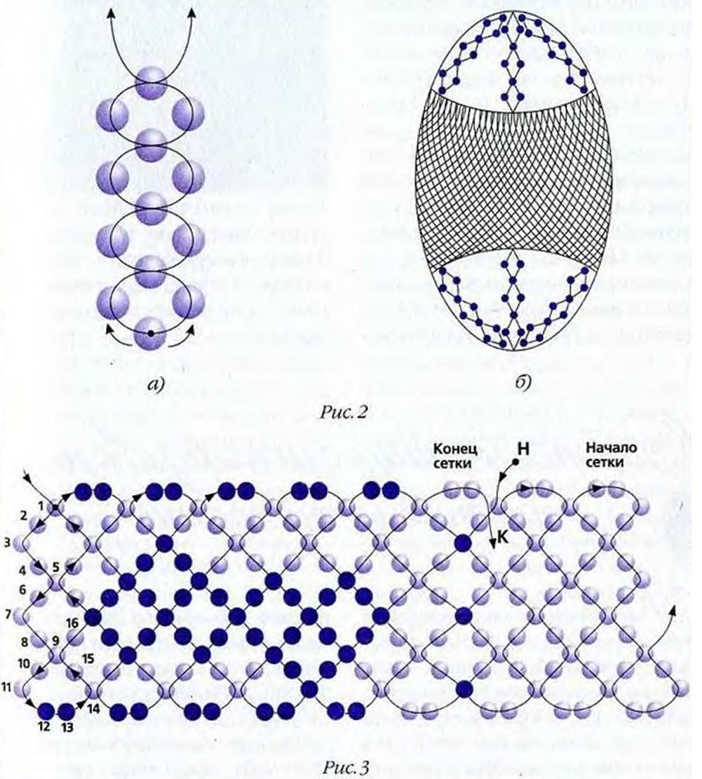 Схемы оплетения пасхальных яиц бисером схемы для начинающих
