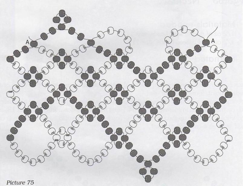 Бисероплетение браслеты по схеме