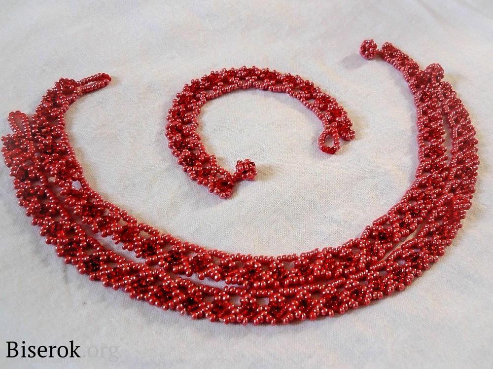 Бисер схемы плетения вышивки браслеты