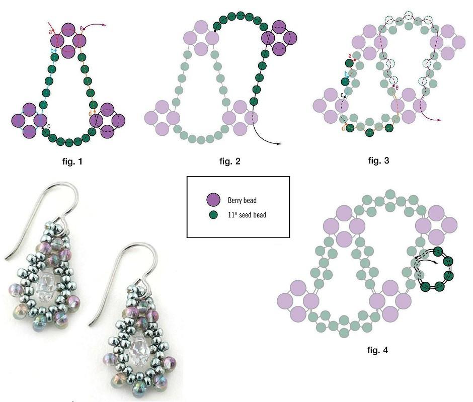 схема плетения браслета. браслеты схема.