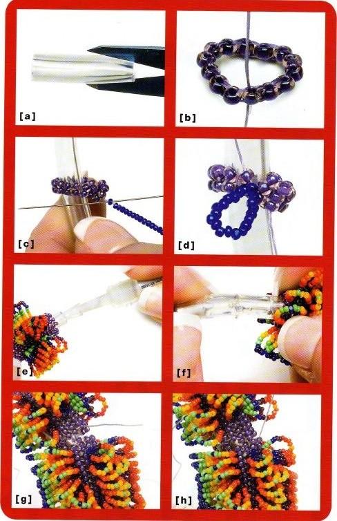 бисероплетение схемы браслетов