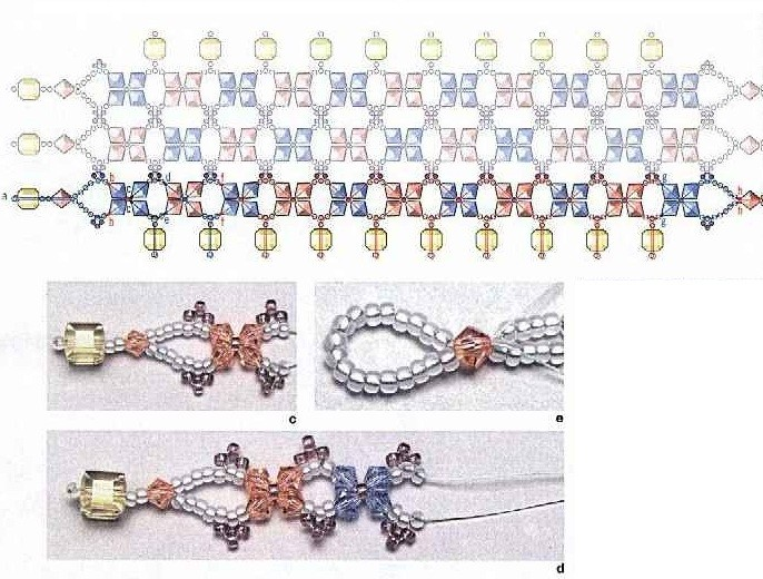 Красивые браслеты своими руками схемы для начинающих