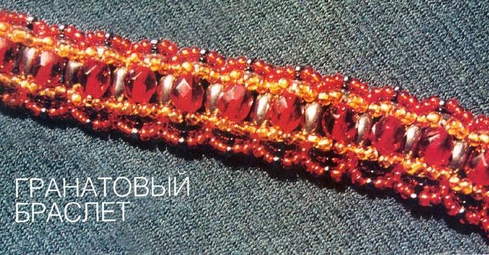 Плетем браслет из бисера своими рукаии.