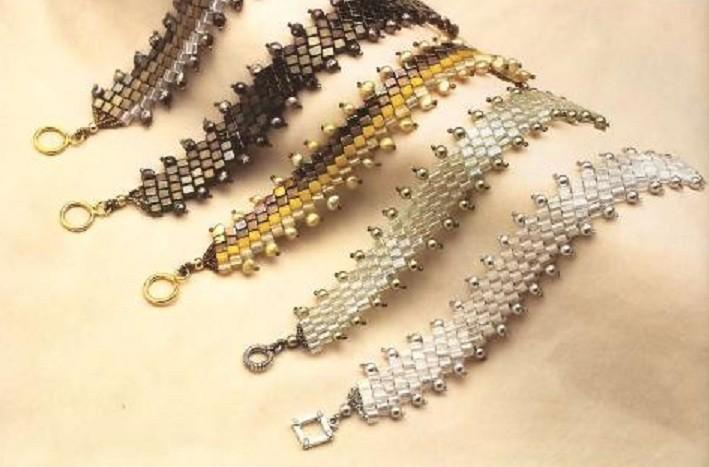 схемы браслетов из бисера мозаикой - Поиск компонентов и схем.