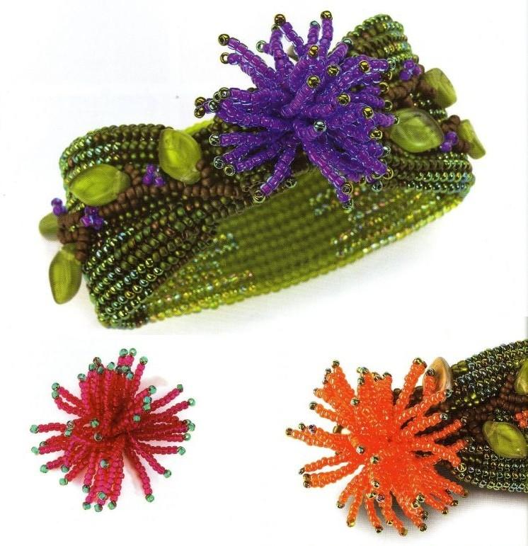 Схема плетения ожерелья.