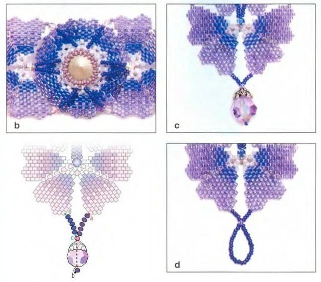 браслеты из бисера схемы для