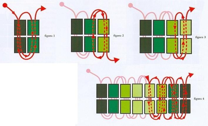 Подробная схема его плетения