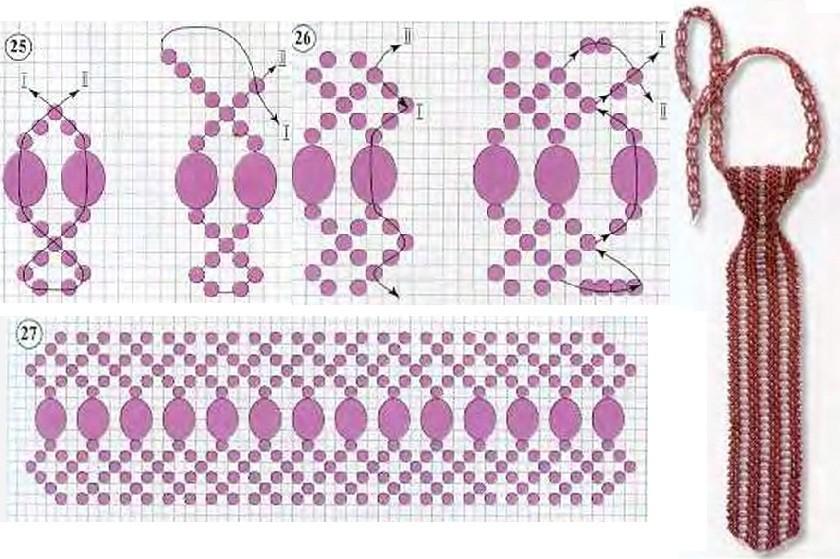 Для работы потребуются: прозрачные граненые бусины диаметром 2мм - 240-250 шт., сиреневый бисер 12- 50 г...