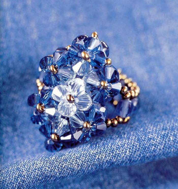 Шикарные кольца из бисера. koltsa shema 9 500x531 Шикарные кольца из бисера.