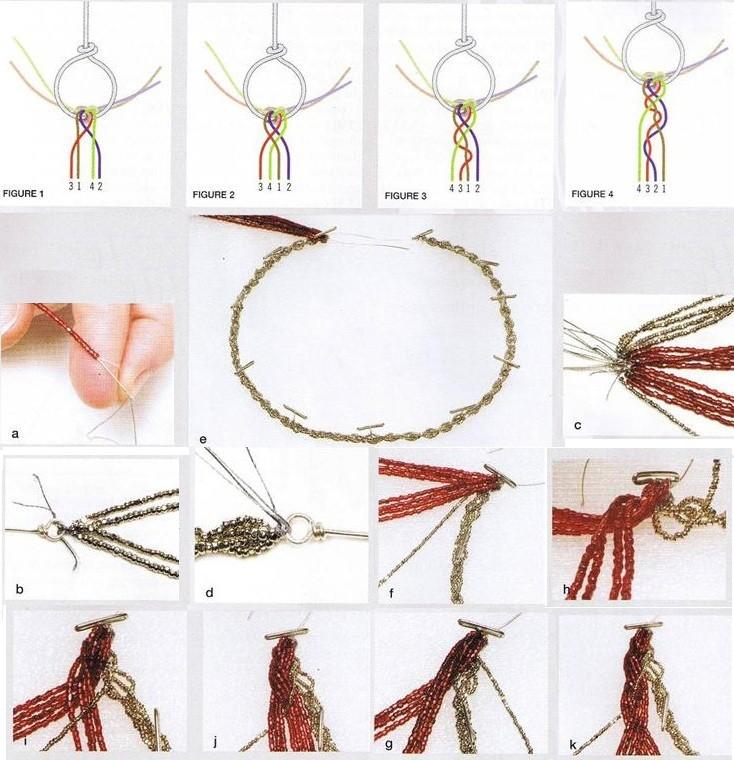 Плетение кошечек из бисера