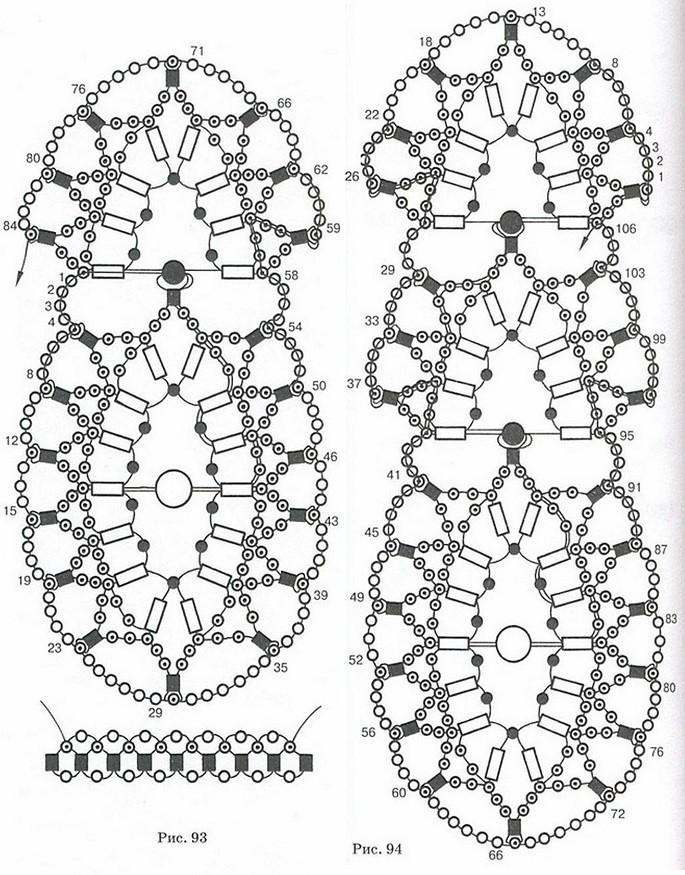 украшения из бисера. схема