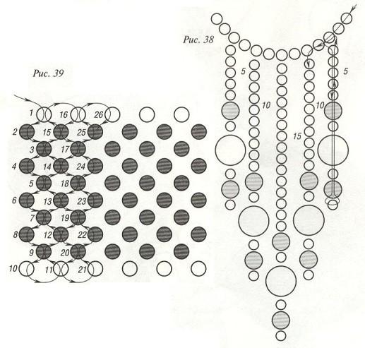 Основа - прямая лента плотного