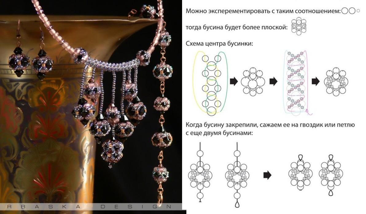 Бижутерия браслеты из бисера своими руками