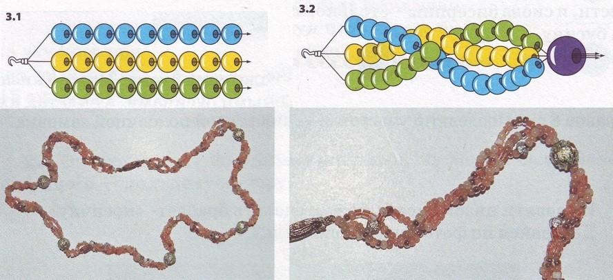 Макраме для начинающих: Плетение браслета с именем из бисера.