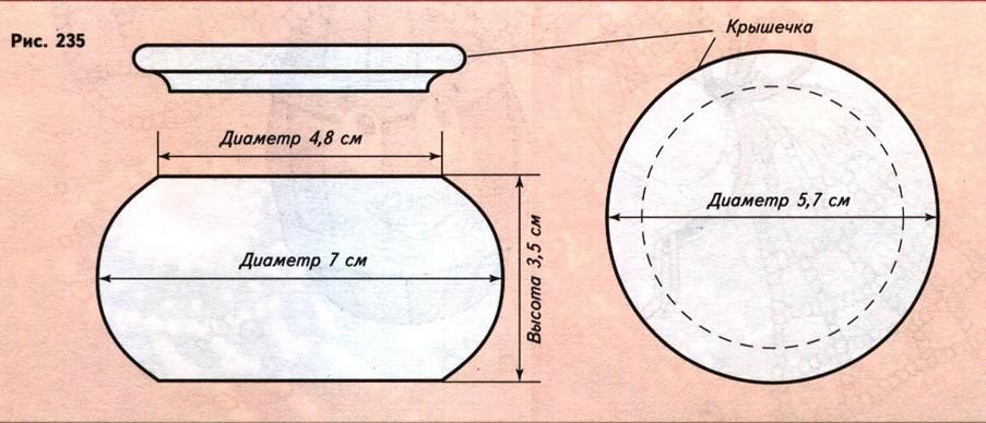 Процесс оплетения можно разделить на две части.  Сначала оплетите боковую поверхность шкатулки, а затем нижите...