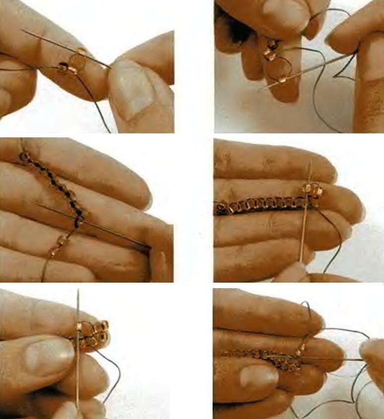 Гобеленовое плетение.