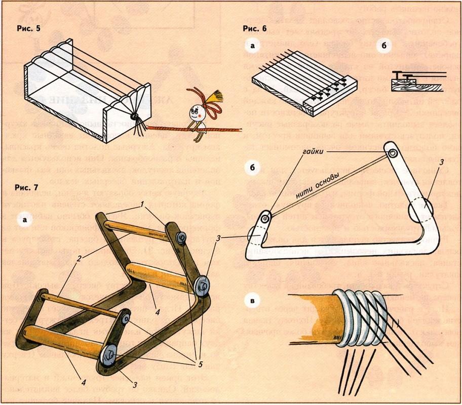Как сделать станки для плетения браслетов из