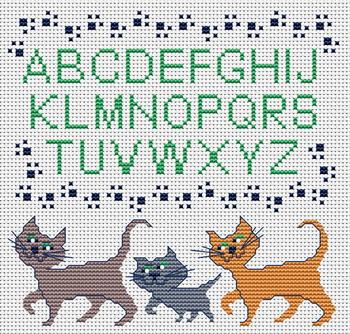 Вышивка с котами примета 8