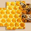 Просмотров: 50 Дата.  Категория.  Вышивка триптих - Пчелы.